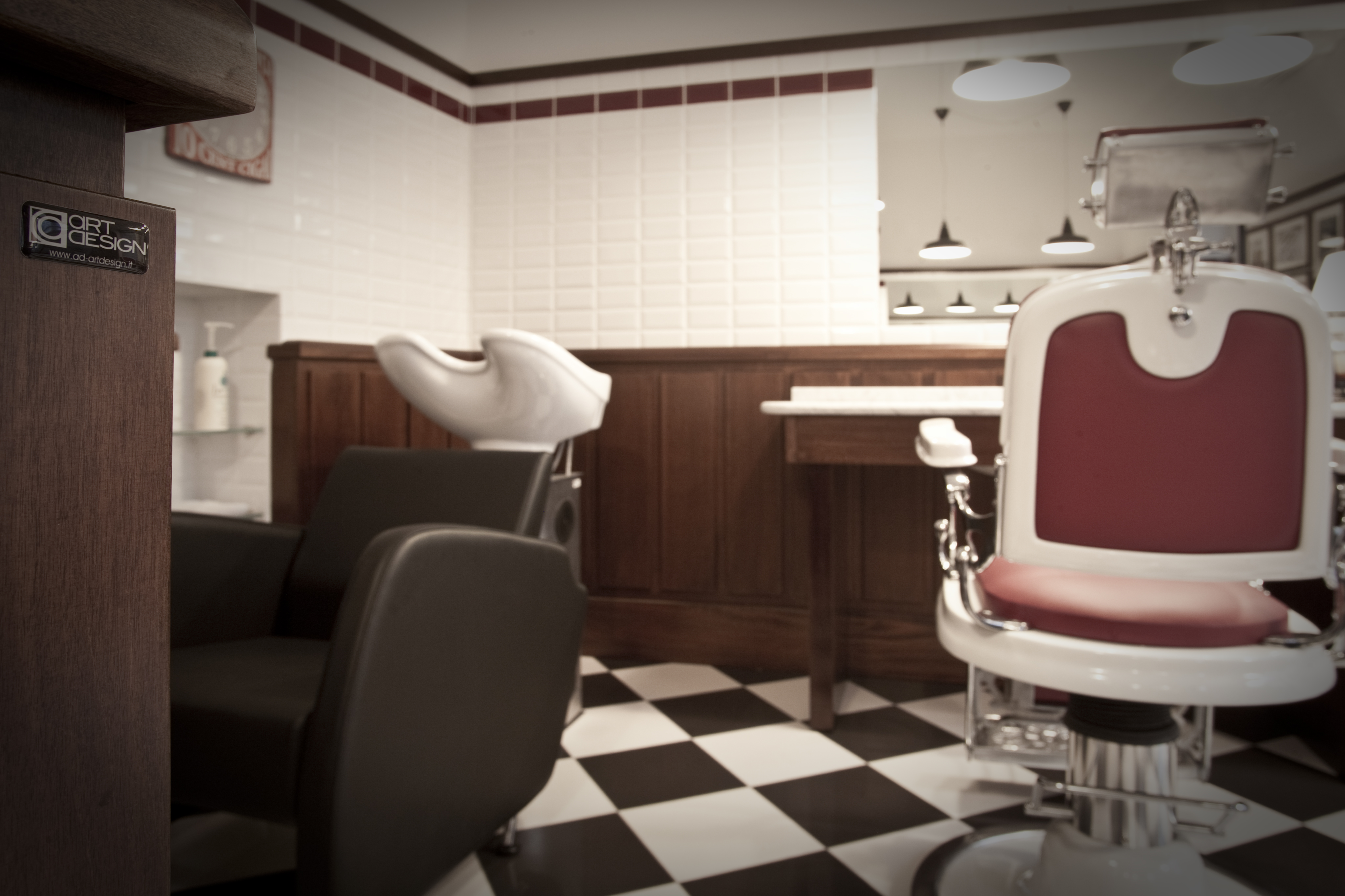 arredamento per negozi barbiere alberto como mativa